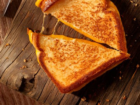 Grilled Cheese soaked grilled cheese