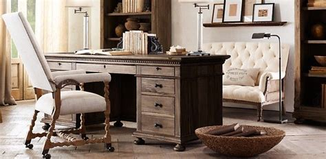 st desk restoration hardware desk