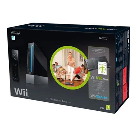 wii console wii fit nintendo wii fit plus pack noir avec wii balance board pas