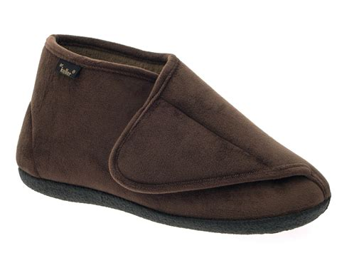 diabetic house shoes diabetic mens slippers 28 images asheville orthofeet s brown comfort slippers