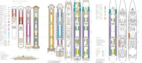 queen mary floor plan grand caribbean celebration miles morgan travel