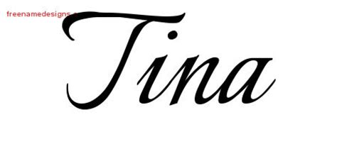 tina archives free name designs