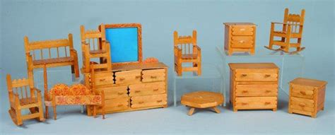 dolls house furnature 11 pieces popsicle stick doll furniture that s clever