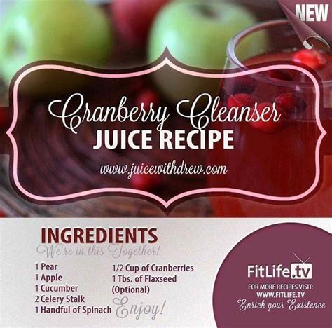Cranberry And Flaxseed Detox by 111 Best Images About Juicing For Health On
