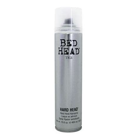 bed head hard head hairspray tigi hard head hair spray reviews photo makeupalley