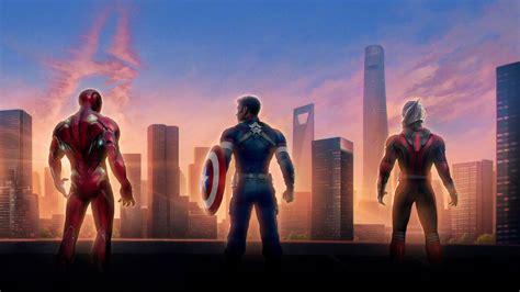 iron man captain america ant man  avengers endgame