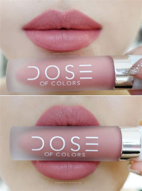 Dose Of Colours Matte Lipstick Matte Liquid Lipstick Promoo dose of colors liquid matte lipstick in bare with me