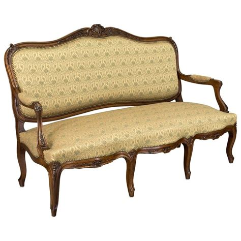 sofa louis xv a vendre 19th century louis xv style sofa or canape for sale at 1stdibs