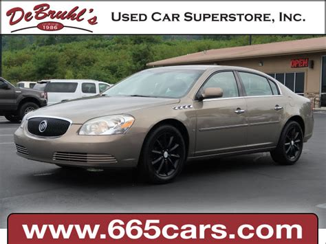 2006 buick lucerne cxs for sale in asheville
