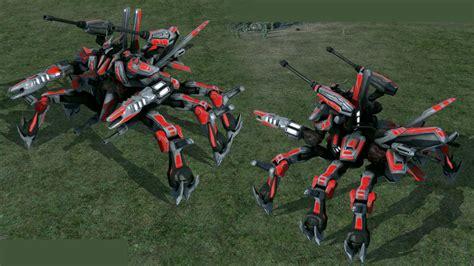 supreme commander mod cybran mega xp finished image rev expansion mod rve