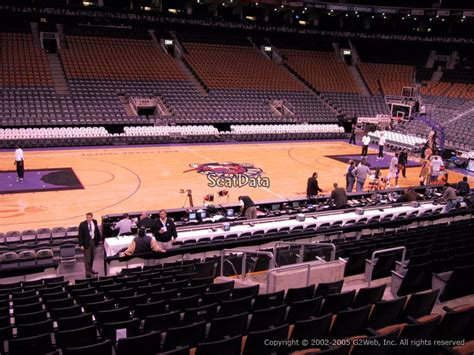 canada section 8 air canada centre section 120 toronto raptors