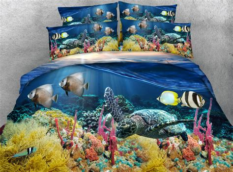 turtle bed popular fish comforter sets buy cheap fish comforter sets