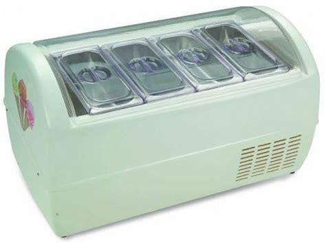 bench top freezer tecnocrio cft0004 bench top baby ice cream freezer