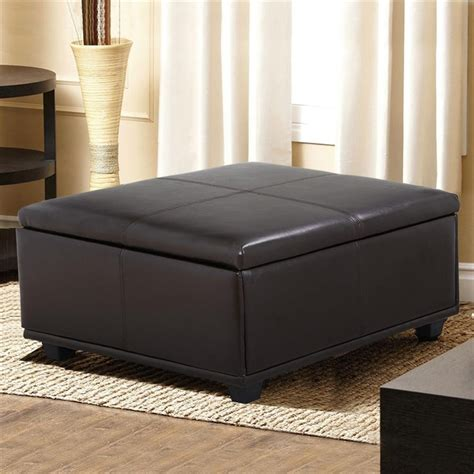 coffee table with ottomans under ottoman under coffee table for room refinement