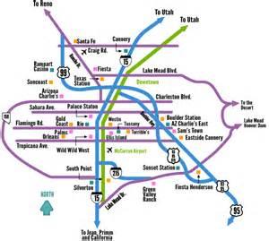 Casino Map Las Vegas by Off Strip Vegas Map