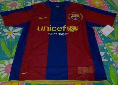Jersey Jadul Barca 2007 T1310 4 my collection barcelona home jersey