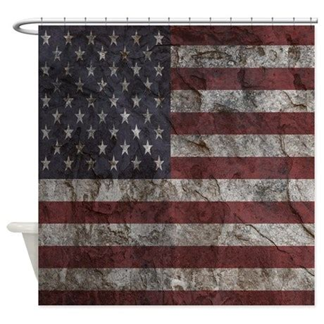 american flag shower curtain cave wall american flag shower curtain by familyfunshoppe