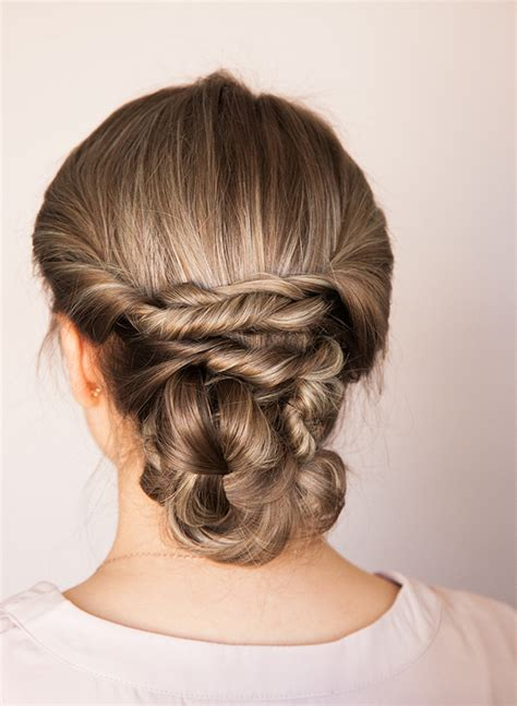 diy races hairstyles picture of chic diy braided updo for formal events 5