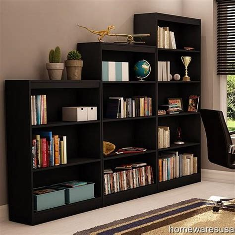 Black Bookshelves For Sale New 3piece Bookcase Set 5 4 3 Shelf Book Shelves Choose