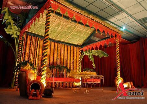 Bangladeshi bridal gaye holud, Gaye Holud Stage Decoration