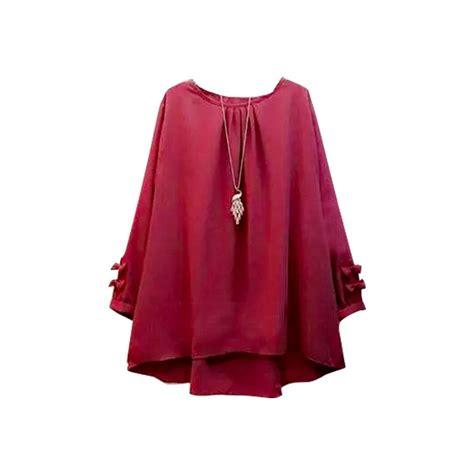 Harga Baju Muslim Wanita Wow Ini Daftar Harga Baju Atasan Baju Muslim Baju Wanita