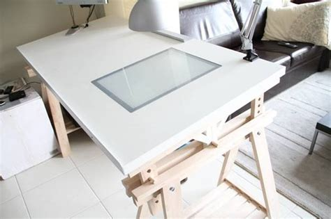 The Ikeahacked Adjustable Angle Drawing Table Drafting Table Ikea