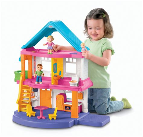 playskool doll house fisher price my first dollhouse review