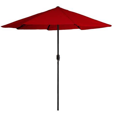 Pure Garden 9 Ft Aluminum Patio Umbrella With Auto Crank Garden 9 Ft Aluminum Patio Umbrella With Auto Crank