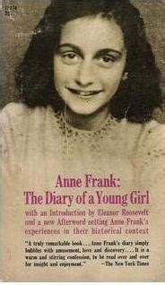 anne frank the biography summary the diary of a young girl novelguide
