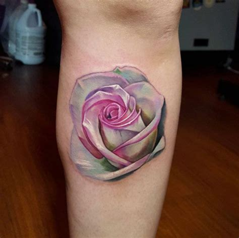 rose tattoo on leg best 20 designs ideas on