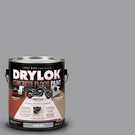 drylok 1 gal dover gray concrete floor paint 209155 - 1 Gal Dover Gray Drylok Concrete Floor Paint