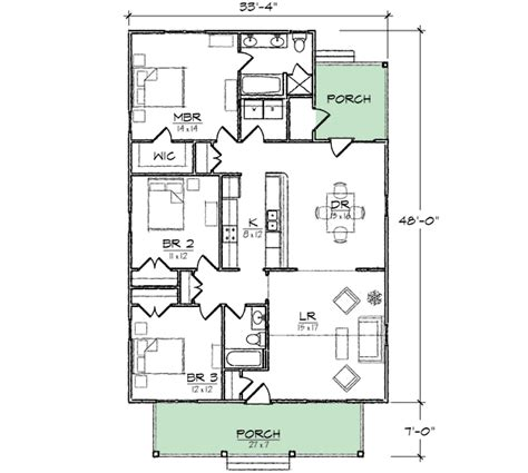 narrow lot cottage house plan 9818sw architectural narrow lot cottage home plan 10075tt 1st floor master