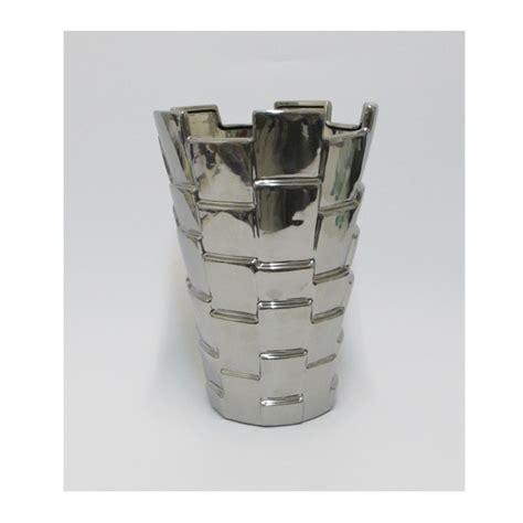 vaso argento vaso in ceramica argento enriquez vendita