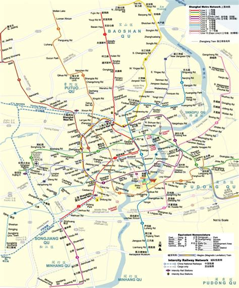 shanghai metro map shanghai subway map 2012 2013 printable metro system maps