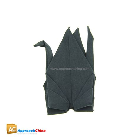 Origami Magic Trick - origamagic origami magic crane black 11 95
