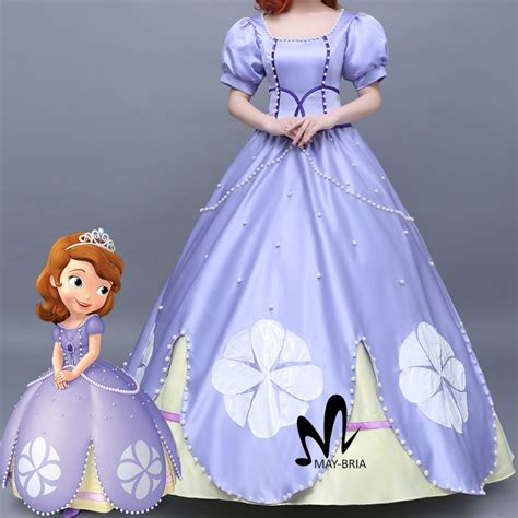 Aliexpress Com Buy Newest Fancy Halloween Costumes For Princess Costume From Sofia The Printable