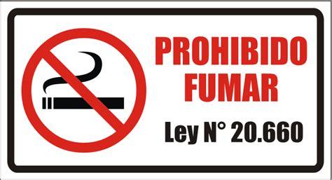 preguntas para hacer fumado se 241 al 233 tica letrero prohibido fumar ley 20 660