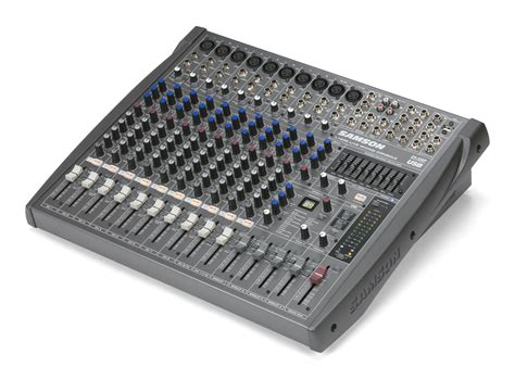 samson l1200 12 channel 4 professional mixing console world wide