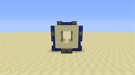 minecraft 2x2 flush piston door tutorial