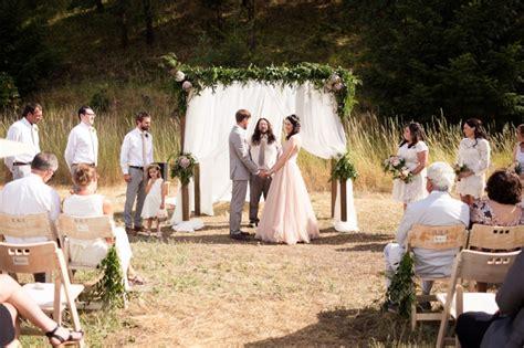romantic backyard wedding organic romantic backyard wedding every last detail