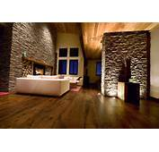 Incredible Interior Decors With Stone Walls