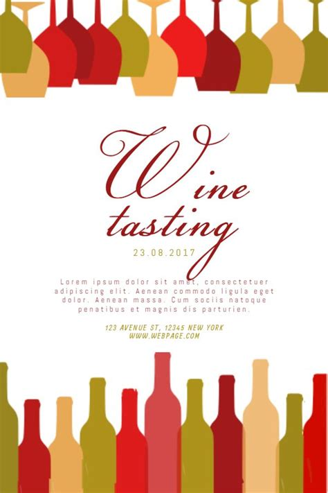 57 Best Restaurant Poster Templates Images On Pinterest Poster Templates Restaurant Poster Free Wine Flyer Template