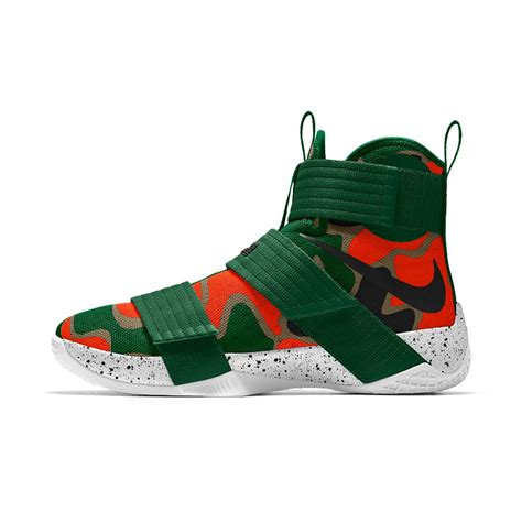 nike id mens basketball shoes nike zoom lebron soldier 10 id s basketball shoe in