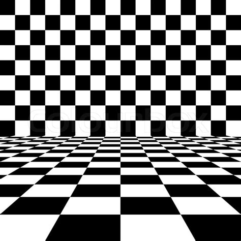 abstract black and white checkered background stock photo