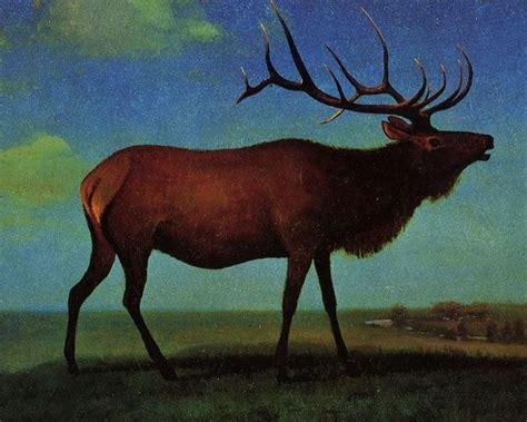 the gallery for gt elk paintings