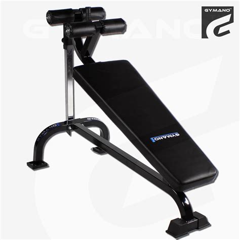 decline crunch bench gymano pro decline crunch bench adjustable sit up