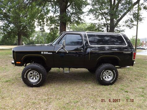 1982 dodge charger for sale 1982 dodge ramcharger rebuilt prospector 4x4 for sale in
