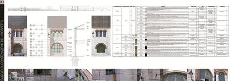 tavole restauro architettonico laboratorio di restauro architettonico i