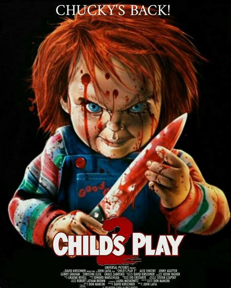 judul film chucky 2 child s play 2 icons of horror pinterest children