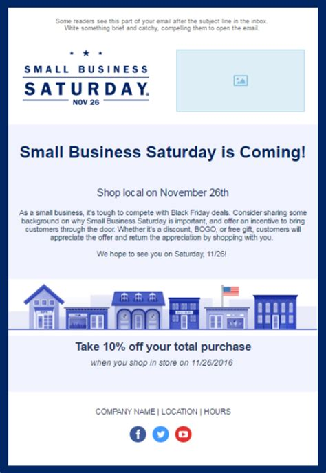11 Holiday Email Templates For Small Businesses Nonprofits Email Template Company